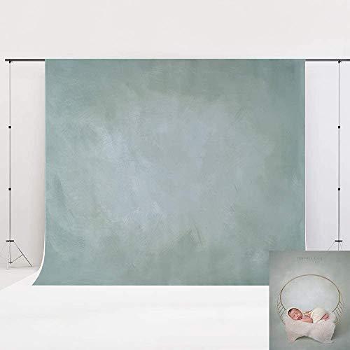 Kate 2,2x1,5 m Sfondo grigio-verde chiaro Sfondo astratto con texture Fotografia Fondali in microfibra Sfondo pieghevole per neonato Ritratto Studio