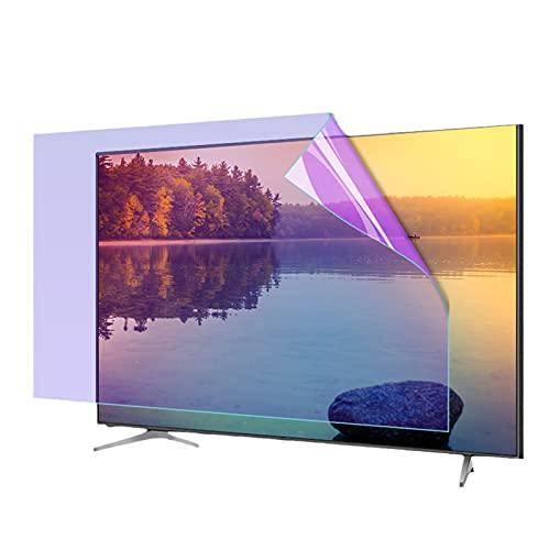 TIM-LI Protector De Pantalla De Pantalla LED, Película Protectora De TV Antirreflejo/Luz Azul para Interiores Y Exteriores, Ultraclaro para LCD, LED, OLED De 32-75',48' 1056 * 596mm
