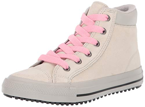 Converse Girl's Chuck Taylor All Star Pc Boots On Mars Sneaker, Natural Ivory/Coastal Pink, 3 M US Little Kid