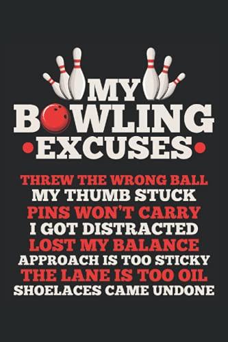 Bowling Notizbuch: Bowling Notizbuch A5 Liniert - zum planen, organisieren und notieren