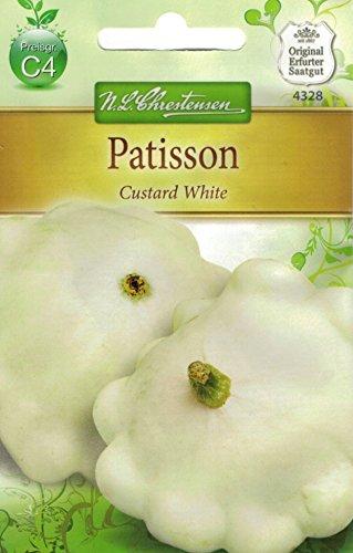 Chrestensen Semences de pâtisson « Custard White » Instructions (langue française non garantie)