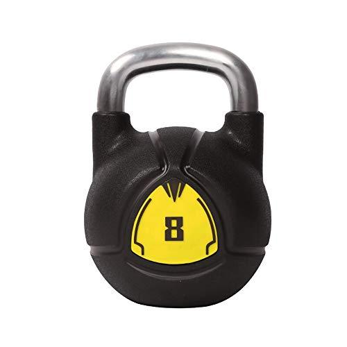 Fitness Kettlebells, Nuevo Juego De Pesas con CPU Kettlebells con Agarre De Acero Kettlebell Competitivo Profesional para Gimnasio En Casa Y Entrenamiento De Fuerza En El Dormitorio,8KG