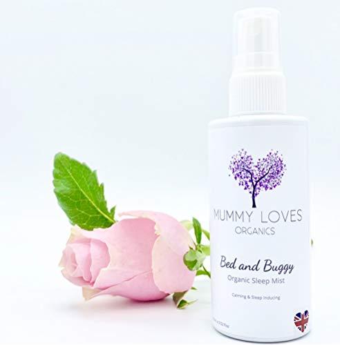 Mummy Loves Organics Shhleepies Brume de sommeil pour lit et poussette – Spray de sommeil pour bébés et enfants, naturel et biologique