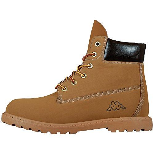 Kappa - Kombo Mid Footwear Unisex, Alte Scarpe Da Ginnastica, unisex, Beige (4150 beige/brown), 36