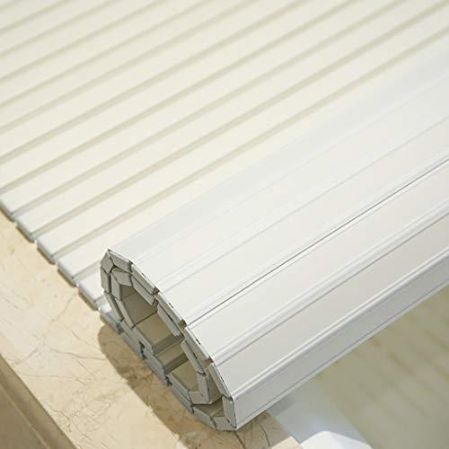 Badkuipdeksel, stofbescherming, PVC-plaat, isolatie, opvouwbaar, badkuiphouder, opvouwbaar, meervoudig, ruimtebesparende opslag 75 * 120 * 1.2cm
