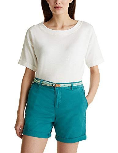 Esprit 030EE1C305 Shorts, Damen, Grün 40 EU