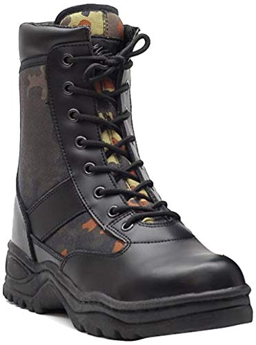 Normani - Botas de Moto, Talla: Schwarz, Color: Multicolor(40)