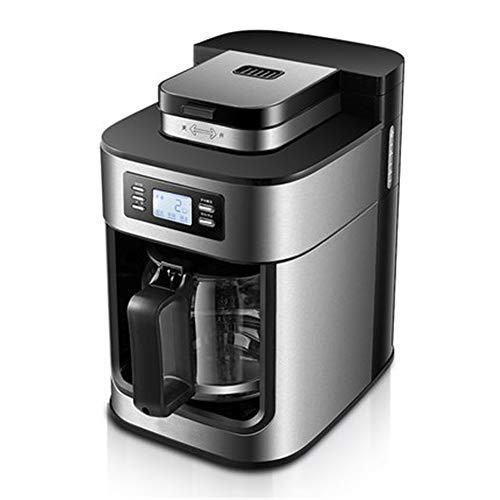 HUOQILIN Cafetera con Jarra Térmica De Acero Inoxidable, Programable Y Ajustable, con Gran Capacidad De 2 A 10 Tazas, Función Antigoteo, Compatible con Posos De Café