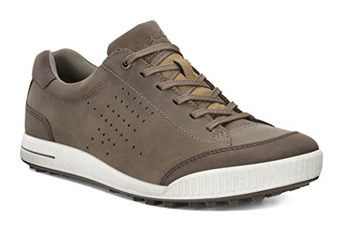 ECCO Men's Golf Street, Chaussures Homme, Marron (Birch/Coffee 50411), 45 EU