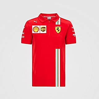 Ferrari Scuderia F1 Kids Charles Leclerc Driver T-Shirt Red (7-8 Years)