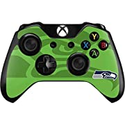 Ultra-Thin, Lightweight Xbox One Controller Vinyl Decal Protection Officially Licensed NFL Design Industry Leading Vivid Color Vinyl Print Technology on your Seattle Seahawks Double Vision skin Scratch - Resistant. Built To Last Everday Xbox One Cont...