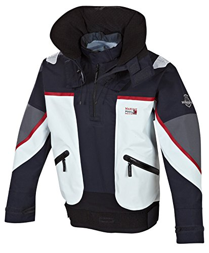 Marine Piscina Funzione a Vela Abbigliamento Kingston II Top, Unisex, Funktionssegelbekleidung Kingston II Top, Navy/Icegrey, XXL