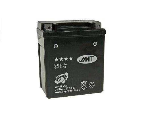 mächtig der welt JMT GEL Line Batterie jmtx7l-bsfür Suzuki RV 125 Van Van (2008)