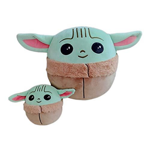 ZAYALI Baby Yoda Plush Pillow, Star Wars Baby Yoda Doll, Mandalorian Plush Stuffed Toy (Baby Yoda Pillow)