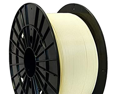 Czech-Made PLA, Beige, ? 1.75 mm, 1 kg Spool, 3D Printing Filament from Filament PM