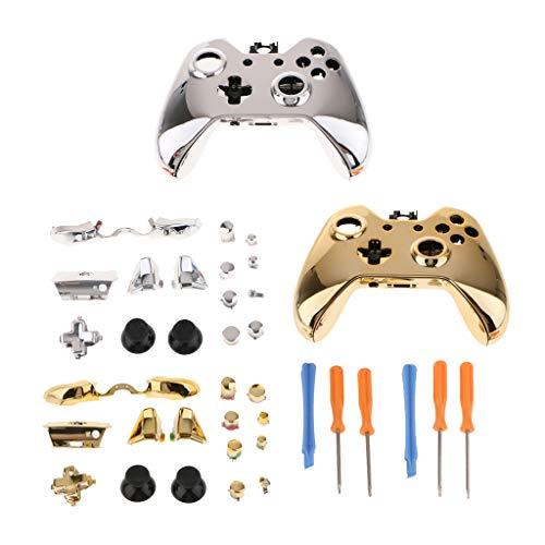 F Fityle 2 Kit Coque Réparation Outils Game Controller Console Tournevis T6 T8 pour Xbox 360 Xbox One Contrôleur et Console - Or Argent