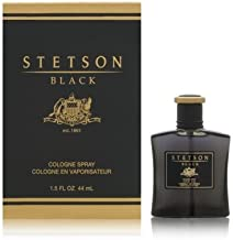 Stetson Black By Coty For Men. Cologne Spray 1.5-Ounces