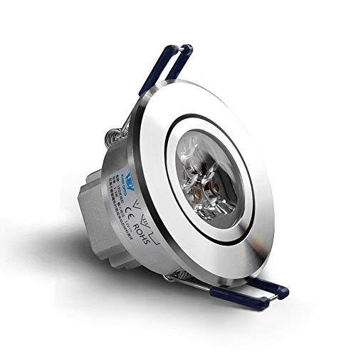 MAONB inbouwspot LED 3 W woonkamer spotlight opening 5 cm 7 cm inbouw wijnregering plafondlamp downlight foyer spotlight