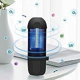 UV Taschenlampe mit Ozon Sterilisation,LED Handlampe Schwarzlicht aus Eisen,Mini Led UV Lampe(3W)