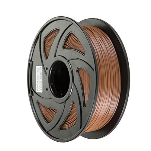 Artistycm 3D Penna 3D Filamento stampante, filamento in PLA - 1,75 mm, bobina da 1,0 kg (2,2 LBS), eco-compatibile, marrone
