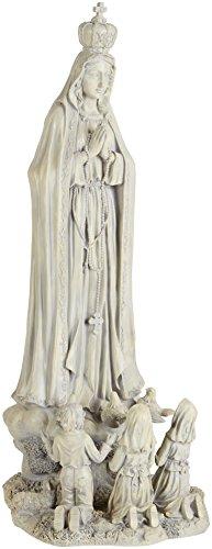 Design Toscano Unserer Lieben Frau von Fatima, Großformatige Figur