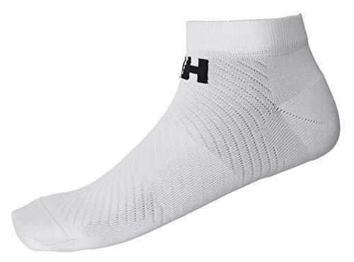 Helly Hansen HH LIFA Active Lot de 2 paires de chaussettes de sport sans salon 001 Blanc/blanc pour homme 8,5-10,5/femme 10-12