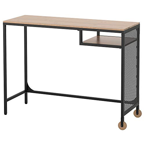 IKEA fjällbo Mesa Escritorio para PC portátil, Color Negro 100x 36cm