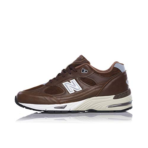 New Balance 991 Made in England Leather Pack M991LWS Brown 40.5 EU