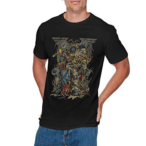 Sunlun Klassisches Warhammer Herren-T-Shirt, Schwarz, Größe XXL