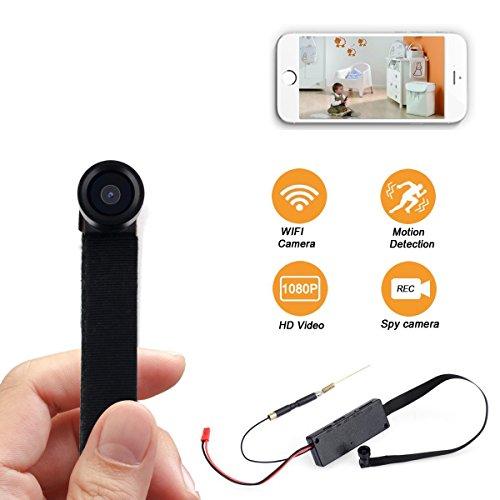 SpyCent Mini WiFi Cámara Oculta Tornillo Espía Portátil Movimiento Sensor de Activación de Visión Gran Angular