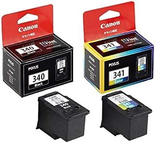 【純正品】CANON FINEカートリッジ BC-340(ブラック) + BC-341(3色カラー)セット