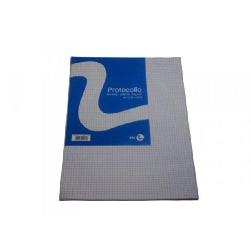 BM fogli protocollo a4 60gr 20fg 4mm bm