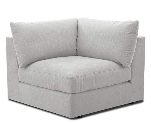 CAVADORE Sofa-Modul 'Fiona' Spitzecke / Ecke für Wohnlandschaft oder XXL-Sessel...