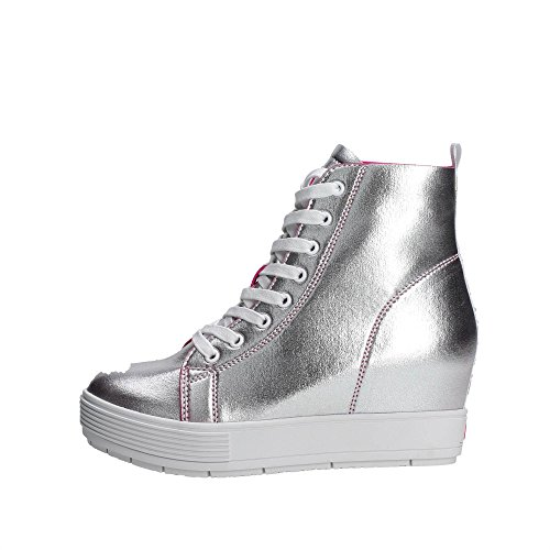 Fornarina PE17MJ9543I090 Sneakers Donna ARGENTO 40