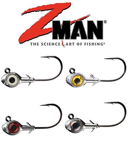 Z Man Trout Eye Finesse Jigheads, 3 Pack