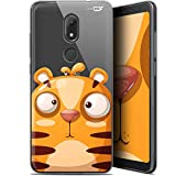 Wiko View 2 Go Case for 5.93 Inch Ultra Slim Cartoon Tiger