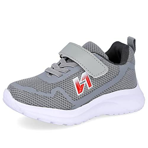 L&R SHOES N2021-1 Zapatillas Deportivas niña - Sintético para: NIÑA Color: Gris Talla: 25