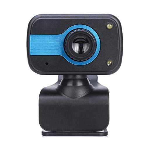 Yudanny 480P Webcam USB Web Clip-On Webcam HD con Microfono per Computer Pc Laptop Web Conferencing MSN Skype