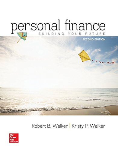 Compare Textbook Prices for Personal Finance 2 Edition ISBN 9780077861728 by Walker, Robert,Walker, Kristy