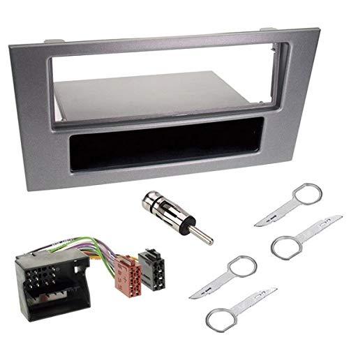 Sound-Way - Kit de Montaje Marco para Radio Adaptador 1 DIN Compatible con Ford Mondeo - KA0012