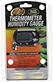 Zoo Med Labs Digital Thermometer Humidity Gauge,...