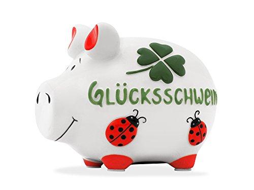 KCG Sparschwein Glücksschwein Luxus Kleinschwein Spardose Sparbüchse Limited Edition