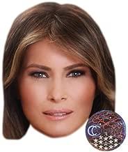 Melania Trump Celebrity Mask, Card Face and Fancy Dress Mask