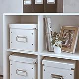 Leitz, Mittelgroße Aufbewahrungs- und Transportbox, Weiß, Mit Deckel, Für A4, Click & Store, 60440001 - 7