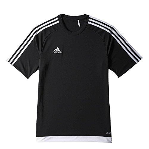 adidas Jungen Estro 15 Trikot, Black/White, 152