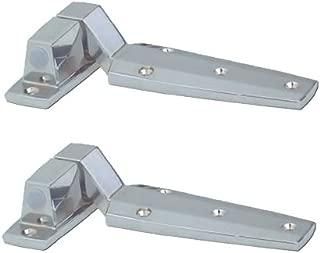 Door Hinges - KEIL/CHG W60 Pair - Flush - Reversible