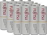 12 Fujitsu Ready-to-use HR3UTC AA Rechargeable Battery NiMH 1.2V Min. 1900mAh Made in Japan
