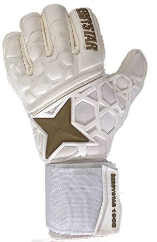 Derbystar APS 1968 Handschuhe Unisex, Weiss Gold, 10