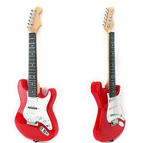 Yavso Guitarras Infantiles, Guitarra Eléctrica de 6 Cuerdas Juguete Música para Niños Entre 2 y 8 años