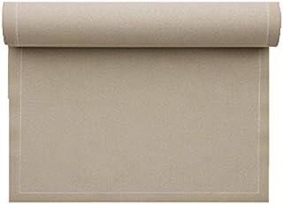 Set de table en coton 48x32cm - Rouleau de 12 sets - Sable